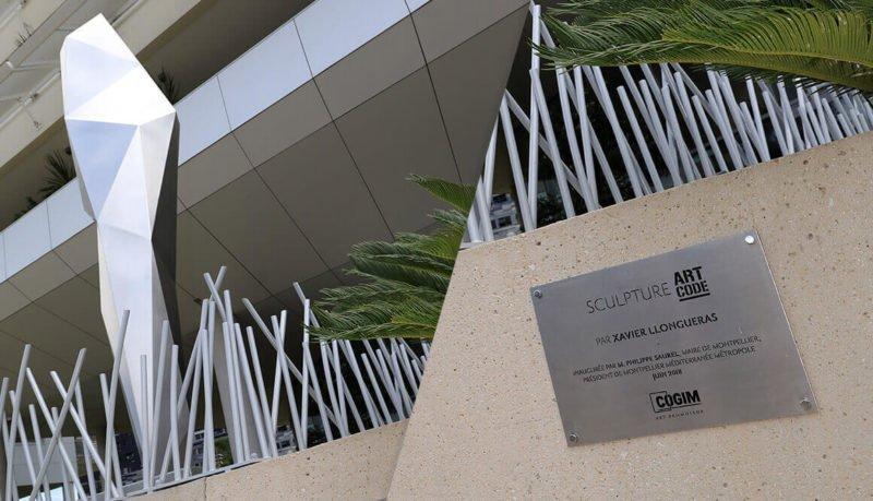 Cogim sculpture Xavier LLONGUERAS