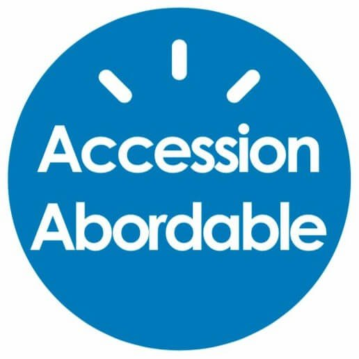 logo accession abordable