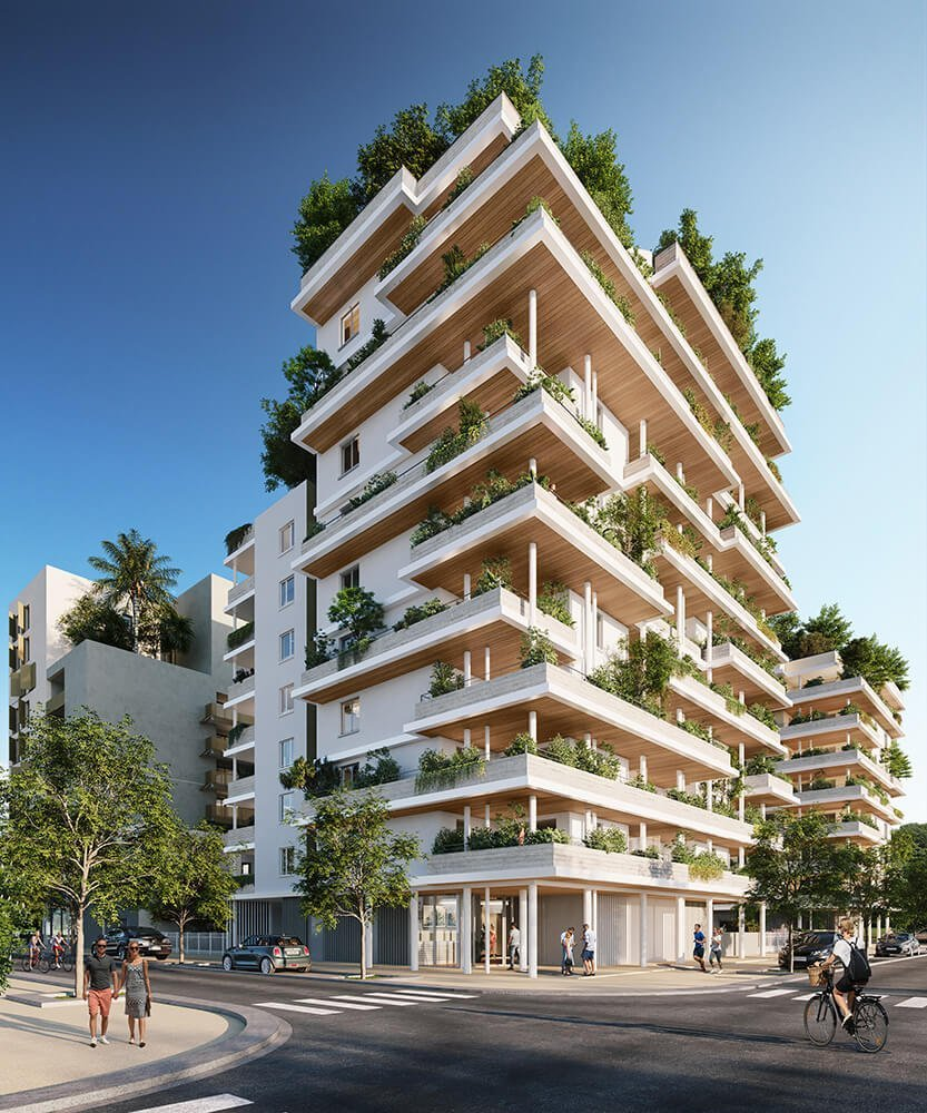 Programme immobilier à Montpellier rive gauche, Odyssée Résidence l'Apogée par Cogim